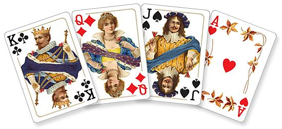 Historical Costumes card set