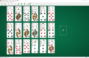 Double Fourteens Solitaire