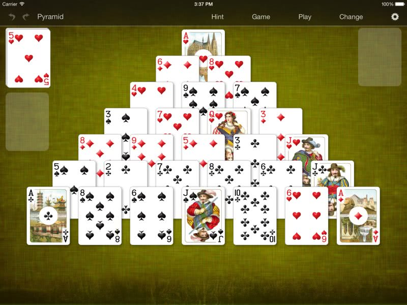 BVS Solitaire Collection for iOS full screenshot